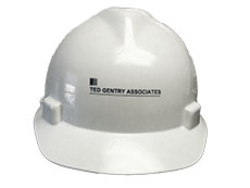 Ted Gentry Associates hard hat